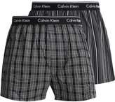 Calvin Klein Underwear 2 Pack Boxer Shorts Breslin Plaid/gallagher