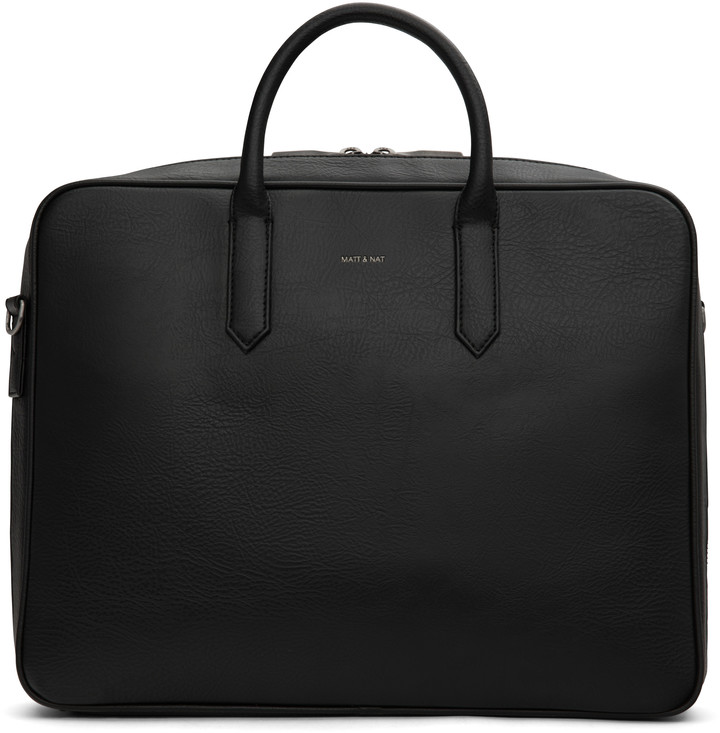 Dwell Matt & NatMatt & Nat ELON Briefcase - Black