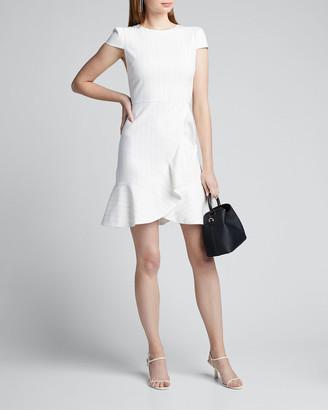 Alice + Olivia Kirby Ruffled Cotton Dress
