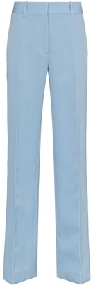 Calvin Klein Contrasting Stripe High-Rise Trousers