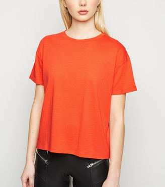 New Look Boxy Cotton T-Shirt