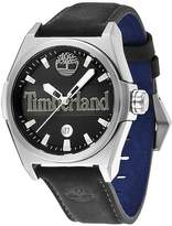 Timberland Men's Back Bay Leather Strap Watch, 42mm