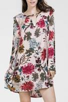 En Creme Floral Bell Dress