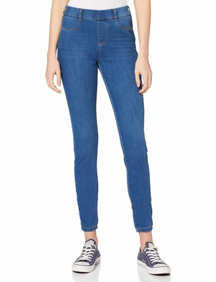 Dorothy Perkins Women's Blue Regular Length Mid Wash Eden Jeggings Jeans 6