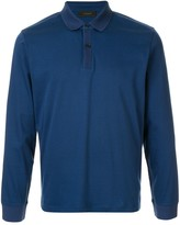 D'urban long sleeves polo shirt