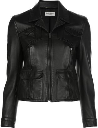 Saint Laurent Short Leather Jacket
