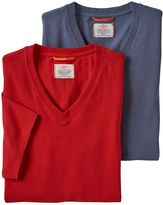 Dockers Men's 2-pack Stretch V-Neck Tees