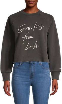 Frame Graphic Cotton-Blend Sweatshirt