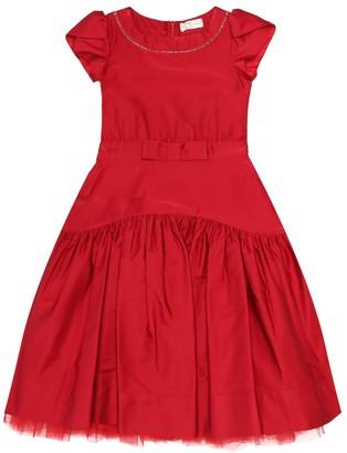 MonnaLisa Cotton-blend dress