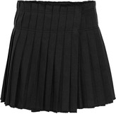 Isabel Marant Kib pleated cotton mini skirt
