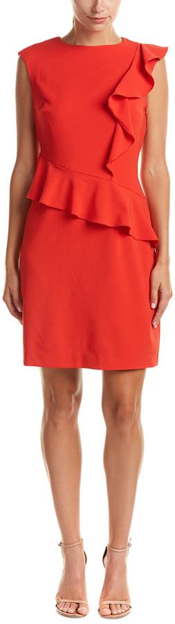 ECI Beige By Sheath Dress