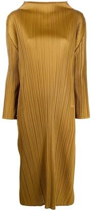 Pleats Please Issey Miyake Plisse Shift Dress