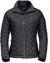 Jack Wolfskin Women's Icy Water Quilted Jacket - Black Jackets