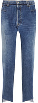 Vetements Reworked High-rise Slim-leg Jeans - Blue