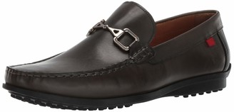 Marc Joseph New York Men's Grainy Leather Carneige Hill Buckle Loafer