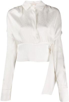 MATÉRIEL leopard print blouse