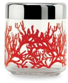 Alessi Mediterraneo Small Kitchen Glass Box with Hermetic Lid