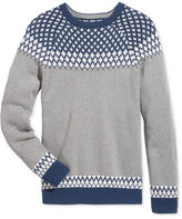 American Rag Men's Fair Isle Print Sweater, Only at Macy's