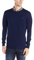 G Star Men's Bandalo Long Sleeve Knit Shirt In Aril Knit