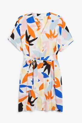 Monki Mini shirt dress