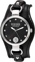 Versus By Versace Women's 'ROSLYN' Quartz Stainless Steel Casual Watch, Color:Black (Model: SOM100016)