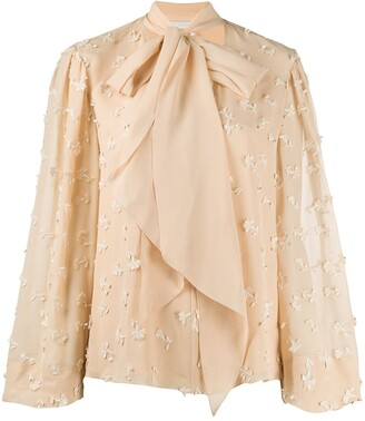 Chloé Floral Embroidered Blouse