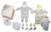 Bambini Newborn Baby Shower Layette Gift Set, 20pc (Baby Girls)