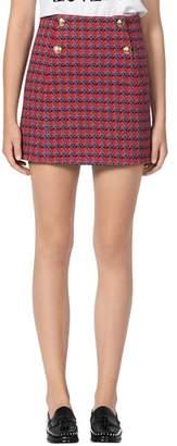 Sandro Efira Tweed Mini Skirt