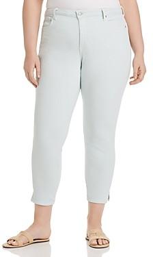 Nydj Plus Ami Skinny Slit Ankle Jeans in Desert Dew
