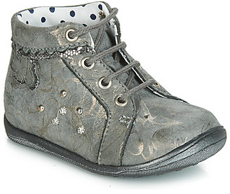 Catimini FANETTE girls's Shoes (High-top Trainers) in Grey