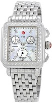 Michele Deco Day Mother of Pearl Dial Diamond Ladies Watch