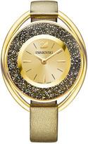 Swarovski Crystalline Oval Watch, Golden