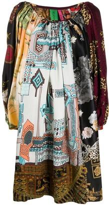 RIANNA + NINA Mix Print Dress