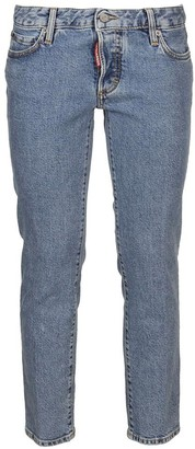 DSQUARED2 Skinny Low Rise Jeans