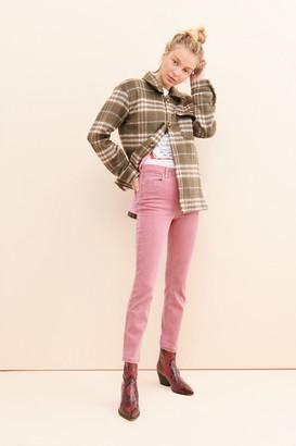 Paige Hoxton Ankle Slim Straight Jeans