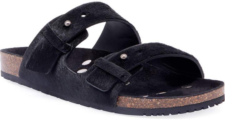 da702859 Men's Jimmy 2Bridle Calf-Hair Sandals