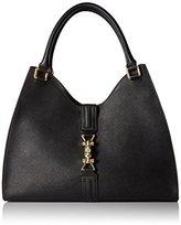 Calvin Klein Saffiano Shopper Satchel Bag