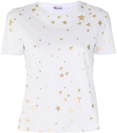 RED Valentino star print T-shirt - women - Cotton - S