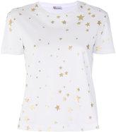 RED Valentino star print T-shirt - women - Cotton - XS