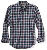 Banana Republic Camden-Fit Luxe Flannel Check Shirt