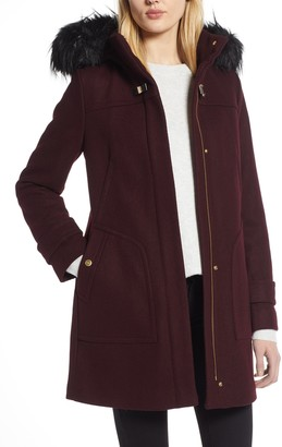 Cole Haan Faux Fur Trim 340 Winter Coat