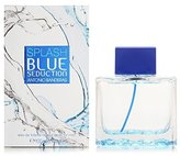 Antonio Banderas Blue Seduction Splash Men Eau De Toilette Spray, 3.4 Ounce by