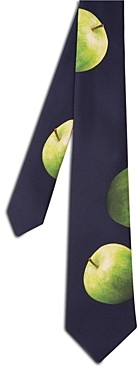 Paul Smith Apple Print Silk Classic Necktie
