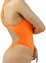LinvMe Women's Sexy Hot Thong One Piece Swimwear High Cut Swimsuit Bathing Suits M
