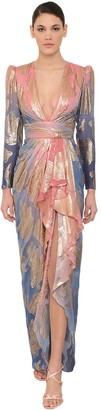 ZUHAIR MURAD Long Silk Blend Dress
