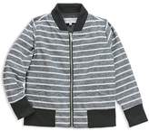 Sovereign Code Boys' June Striped Chambray Bomber Jacket - Little Kid, Big Kid