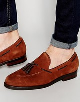 Aldo Cezar Suede Tassle Loafer