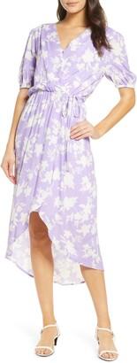 Fraiche by J Demi High/Low Wrap Dress