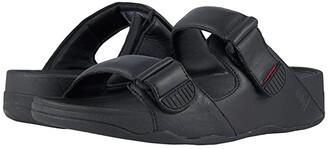 FitFlop Gogh Moc Slide (Black) Men's Sandals