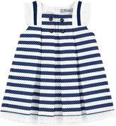 Mayoral Striped poplin dress